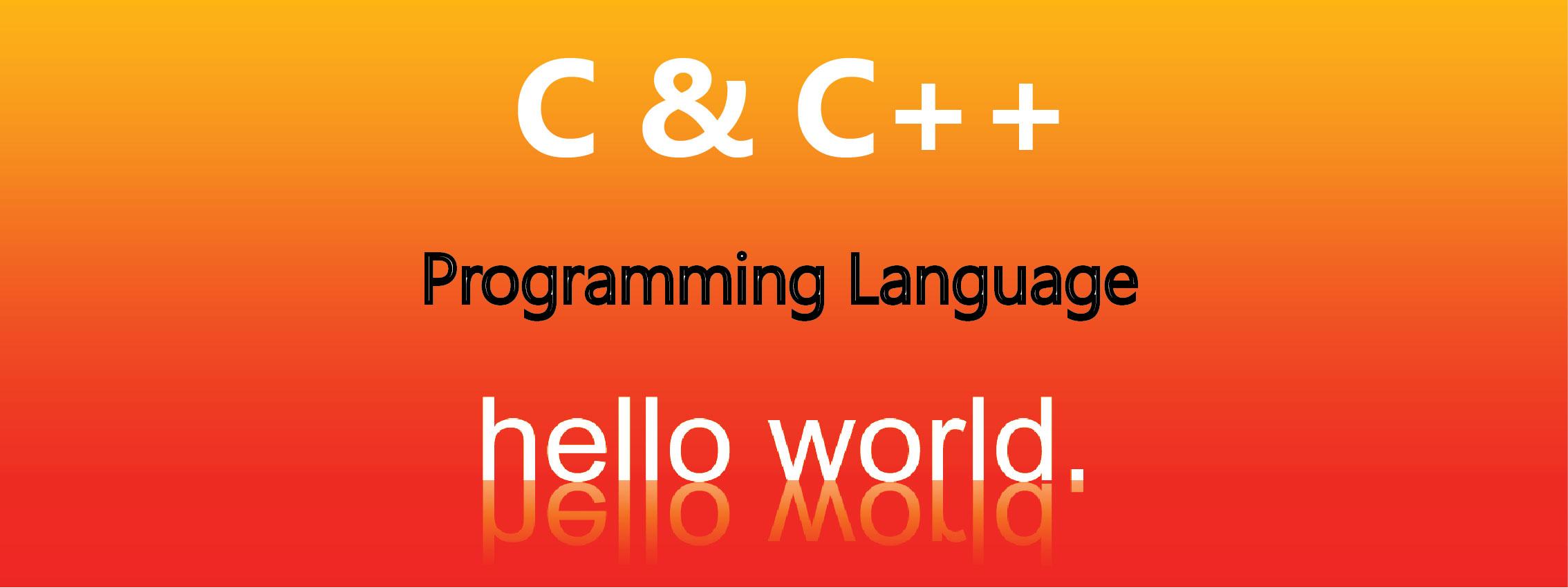 Học ngôn ngữ lập trình C và C++