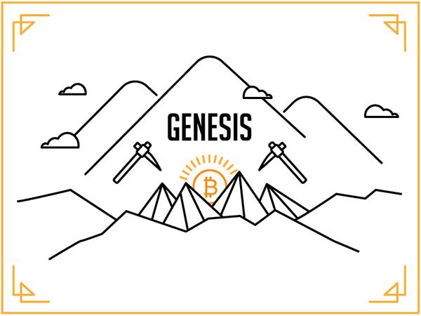 Khối Genesis của Bitcoin đồng tiền điện tử