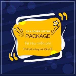 CV Package tài liệu miễn phí của Việc Ơi